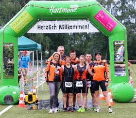 Triathlethen vom TVA