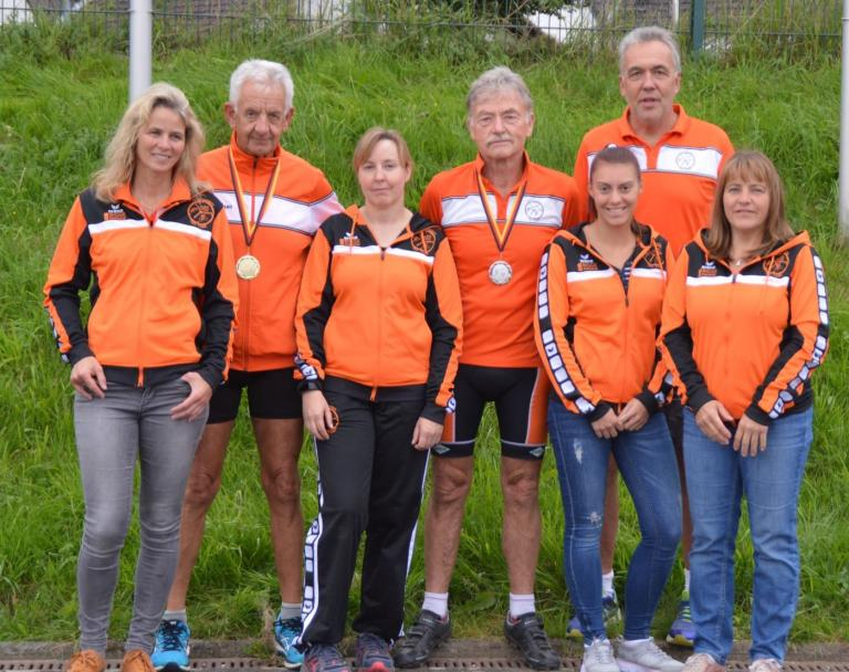 Einige Triathleten des TVA gingen in Willich an den Start